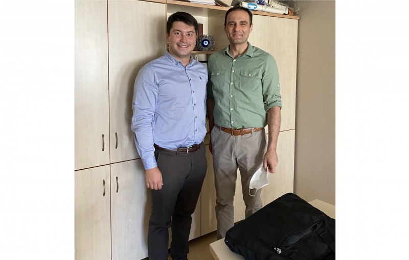 Ozan Bayram, member of Yagci Lab under the supervisionof Assoc. Prof. Baris Kiskan, has successfully defended his MSc thesis.