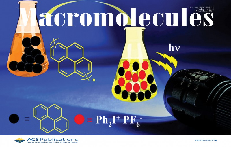 Recent article from our laboratory has been selected as a cover article in Macromolecules.