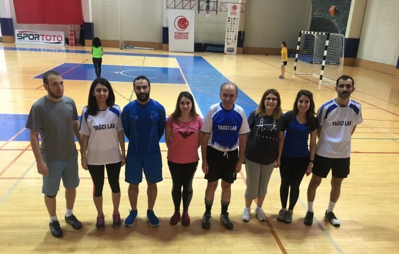 Yagci Group indoor soccer team is participating in 2017 ITU Tournament.